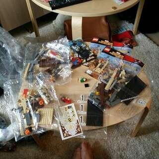 Lego 222 76037 完美散件 眼見件
