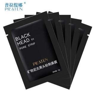 10 pcs Pilaten black head removal