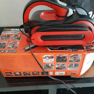 Black&Decker 12v vacum cleaner pav1205