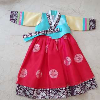 Kids, Girl, Korean, Hanbok, Costume