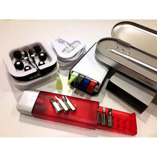 Souvenirs Premium Gifts Set / Pens / Recycle Books / Thumb Drive / Laser Pointer