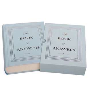 [CNY OFFER] Book of Answers (with cover)