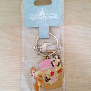 Disneyland Chip 'n' Dale 鎖匙扣