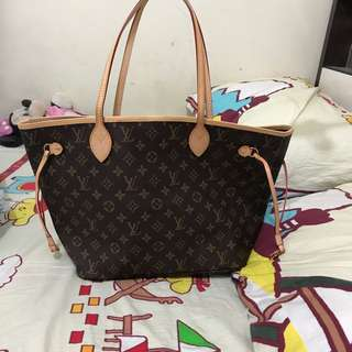 Lv neverfull mm size 95%new