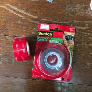 Scotch 5lbs mounting tape