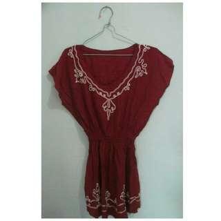 Baju Bali Bordir