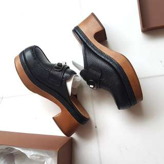 NEW Coach Black Clogs