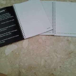Brand New Note Books 2 for $2