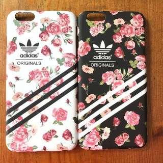 iPhone 6 Plus / 7 Plus Floral Adidas Phone Cover / Case