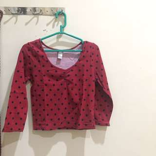 #CNY2018 Forever 21 crop top size M