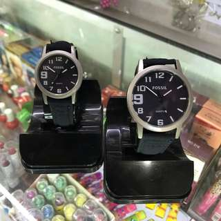 Jam Couple Fossil