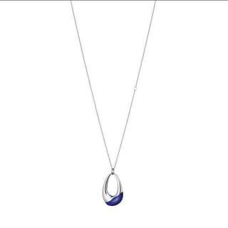 VDAY SPECIAL 50% off! AUTHENTIC CALVIN KLEIN ELLIPSE (BLUE PENDANT)