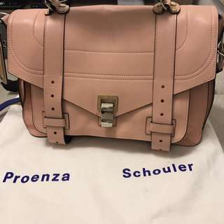 👑Proenza Schouler 1  pink 100% real 90% new