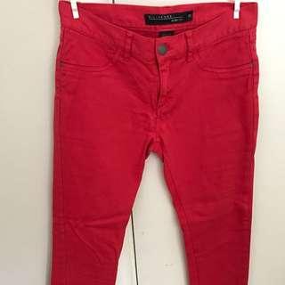 Red jeans Billabong