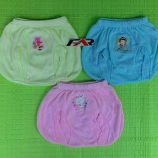 #ImlekHoki Celana Pendek Bayi Merk POP 6 Pcs
