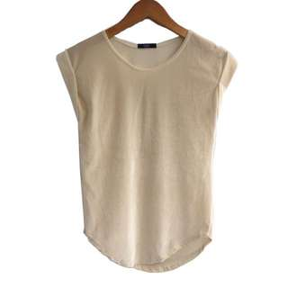 Textured Sleeveless Top