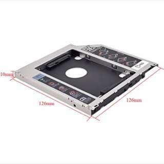 Macbook harddisk drive caddy , second hard drive to replace your optical cd rom drive