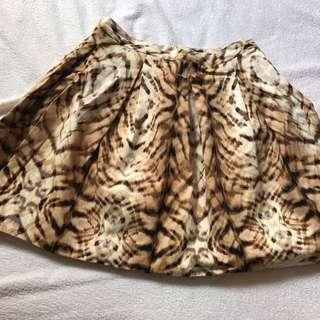 Bardot short skirt