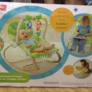 Authentic Fisher Price Infant to Toddler Rocker