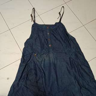 Light denim dress/overall
