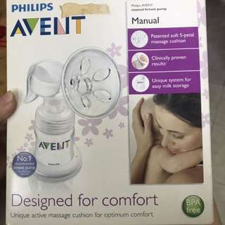 Philips Avent Single manual Breast Pump