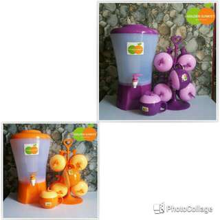 Dispenser set + gelas apel