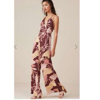 Finders Keepers 'Bloom' jumpsuit size 8