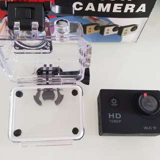 Wifi-Waterproof 30M action camera