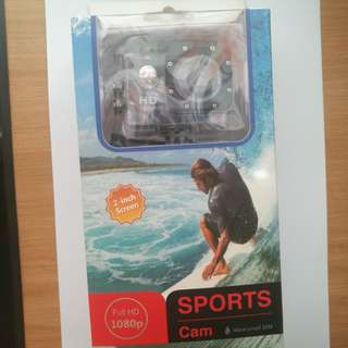 Sports Cam Full HD 1080p waterproof 30M