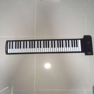 Flexible Silicon Keyboard (61 Keys)