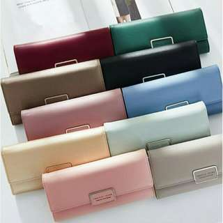 Korean Fashionable Long Wallet