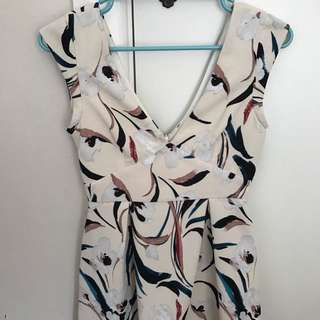 Zara beige dress