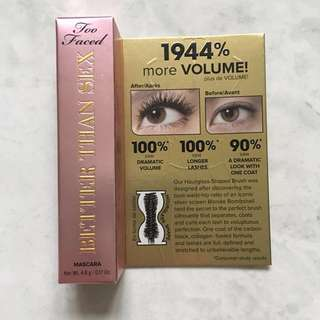 Too Faced Better Than Sex Mascara (travel size)