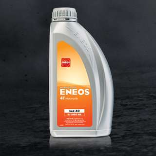 #15Off ENEOS Mineral Based 4T Engine Lubricant SAE40 MA 1L Motorcycle Oil