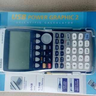 SAT 考試用 計數機 Graphing Calculator Casio FX-9860GII SD   計數機 Graphing Calculator Casio FX-9860GII SD