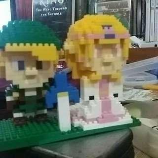 The Legend of Zelda Micro Blocks