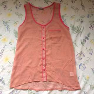 Shear Rose Top