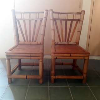Handmade Bamboo Chairs