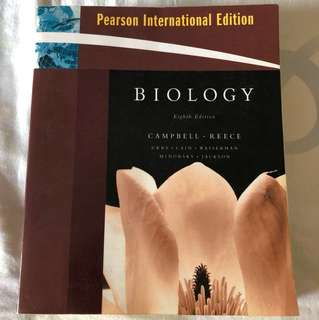 Campbell biology 8th edition with CD