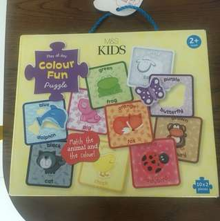 Marks and Spencer color fun puzzle