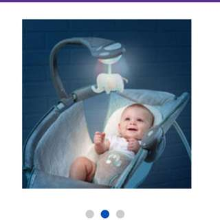INGENUITY Soothing Light Rocker Sleeper