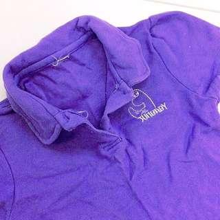 [Sunbaby] Purple Girls Polo Tee.