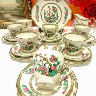 Duchess Vintage Tea Set Fine Bone China
