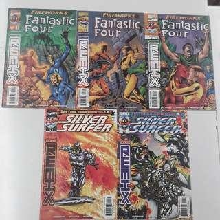Marvel Remix Fantastic Four and Silver Surfer Comics Set