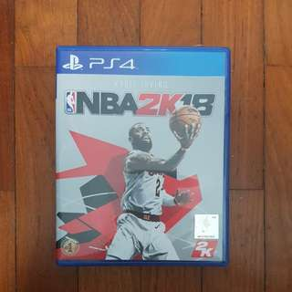 NBA 2K18 for PS4 wanna trade w UFC 3 !!!