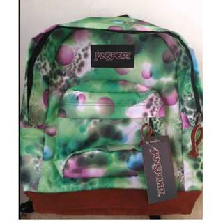 Jansport Green Bubble Rightpack Special LB