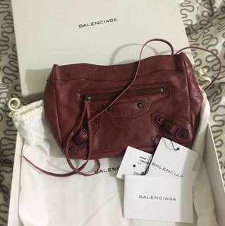 減減Balenciaga cluth bag快走