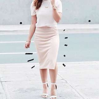 Forever 21 Skirt With Slit