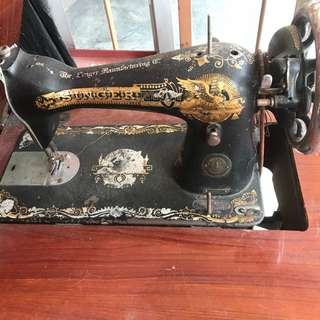 Mesin Jahit Singer Antique Sewing Machine 1958