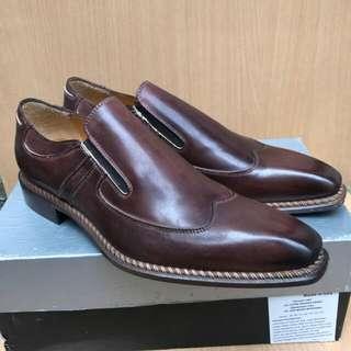Sepatu Slip On Mario Cuomo Original Italy utk Formal
